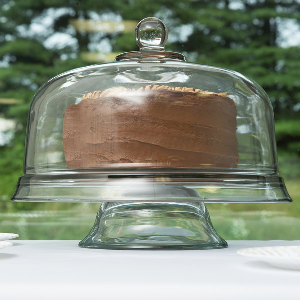 Anchor Hocking 96841AHG18 Cake Display, Punch Bowl & Chip / Dip Tray Main Image 2