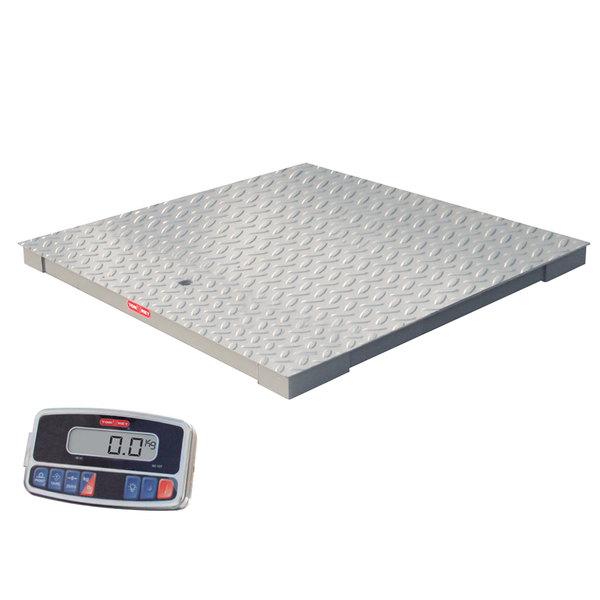 Tor Rey PLP-5/5-2500/5000 Pro-Tek 5000 lb. 5' x 5' Platform Receiving Scale