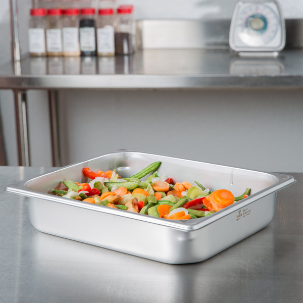 Hatco ST PAN 1/2 Equivalent Half Size Stainless Steel Food Pan