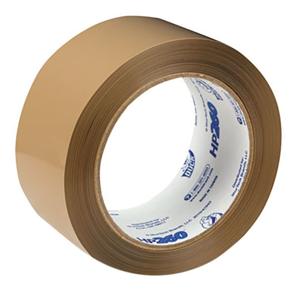 "Duck Tape HP260T 1 7/8"" x 60 Yards Tan Carton Packaging Tape"