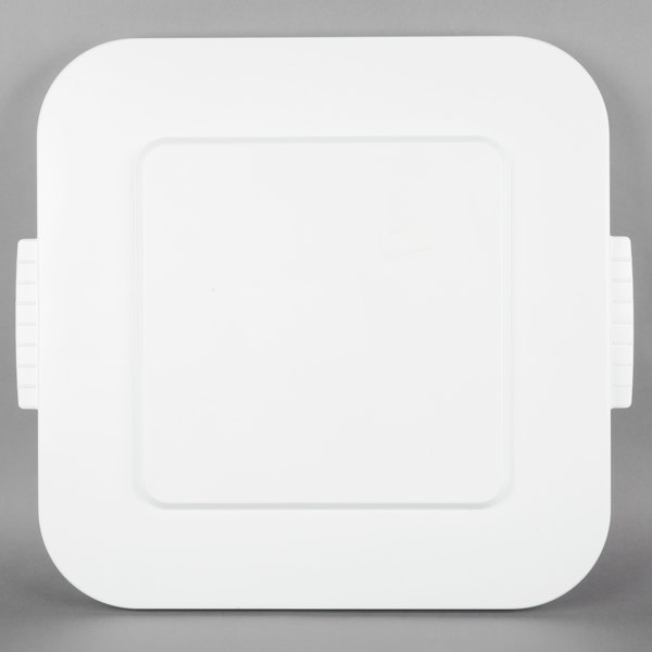 Brute Square Lid White 40 Gallon