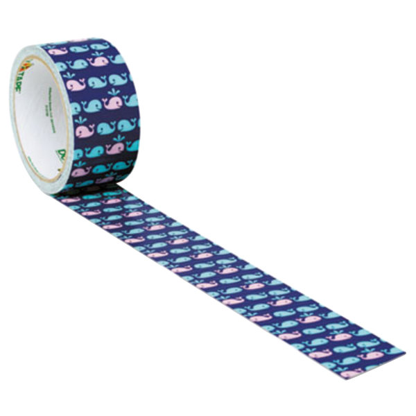 Adhesives, Sealants & Tapes Duck 284169 Printed Duct Tape Whale Of A Time Business & Industrial