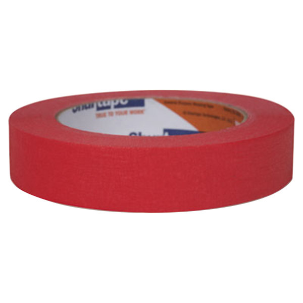 "Duck Tape 240571 15/16"" x 60 Yards Red Masking Tape"