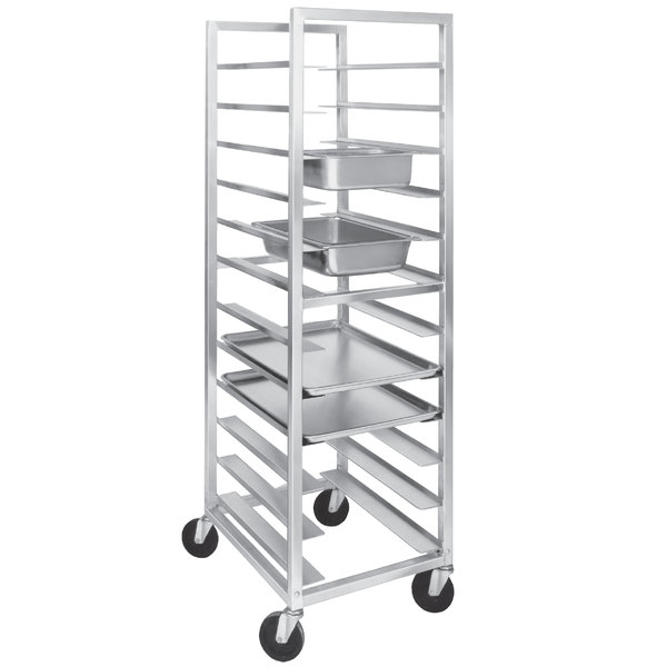 Channel UTR-12 12 Pan Aluminum Steam Table / Bun Pan Rack