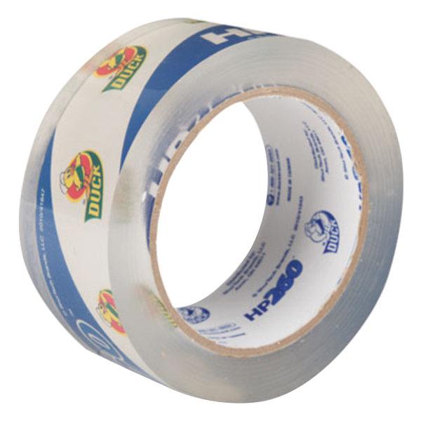 "Duck Tape HP260C 1 7/8"" x 60 Yards Clear Carton Sealing Tape"