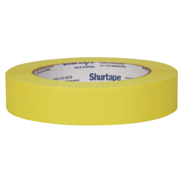 "Duck Tape 240570 15/16"" x 60 Yards Yellow Masking Tape"
