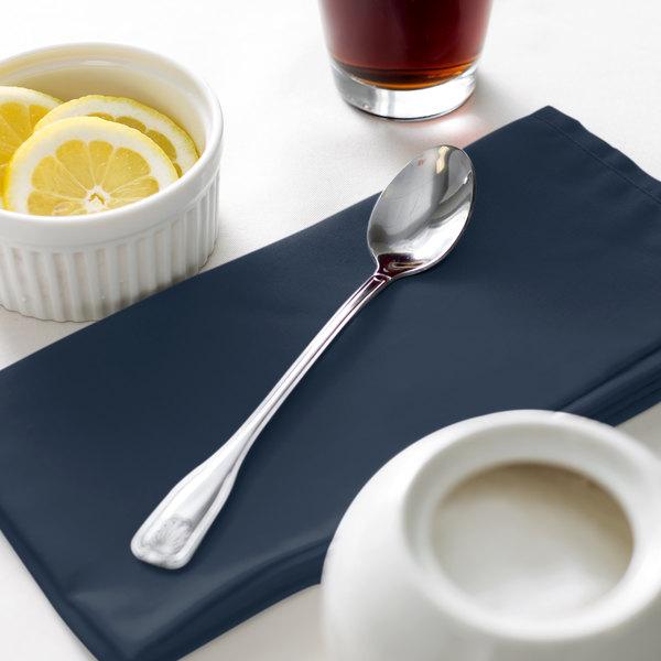 """Acopa Atglen 7 5/8"""" 18/0 Stainless Steel Medium Weight Iced Tea Spoon - 12/Case Main Image 5"""