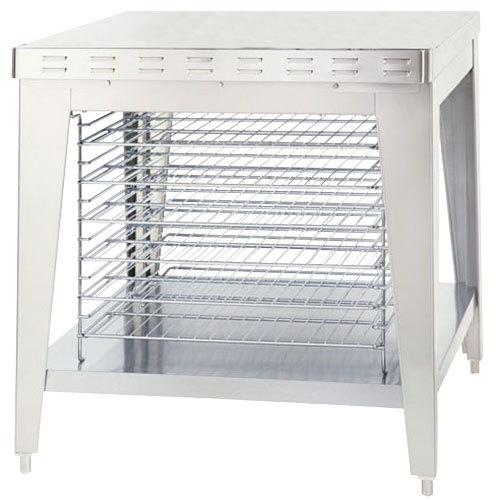 """Alto-Shaam 5003489 Stationary Stand with Cooling Racks and Bullet Feet for ASC-4E and ASC-4G Convection Ovens - 35 1/2"""" Main Image 1"""