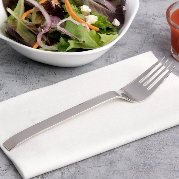 """Arcoroc T3529 Empire 7"""" 18/10 Stainless Steel Extra Heavy Weight Salad Fork by Arc Cardinal - 12/Case"""