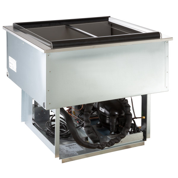Delfield N8131-FA Two Pan Drop In Forced Air Refrigerated Cold Food Well Main Image 1