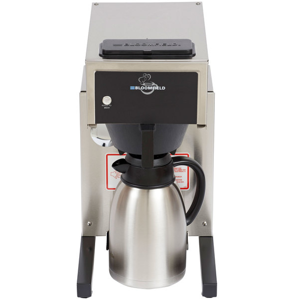 Bloomfield 8785-AL-120C Gourmet 1000 Low Profile Pourover Airpot Coffee Brewer, 120V; 1500W (Canadian Use Only)