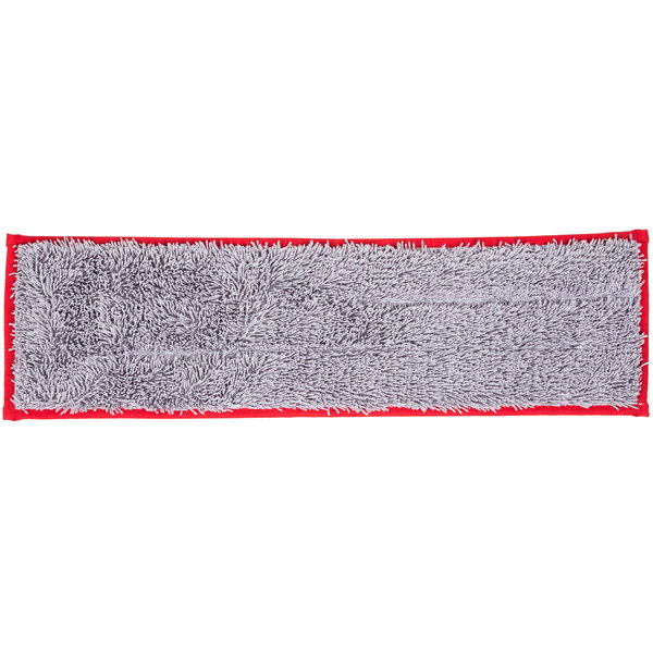 """Unger DD40R SmartColor Red Dry / Damp 13.0 Mop Pad - 19 1/2"""""""
