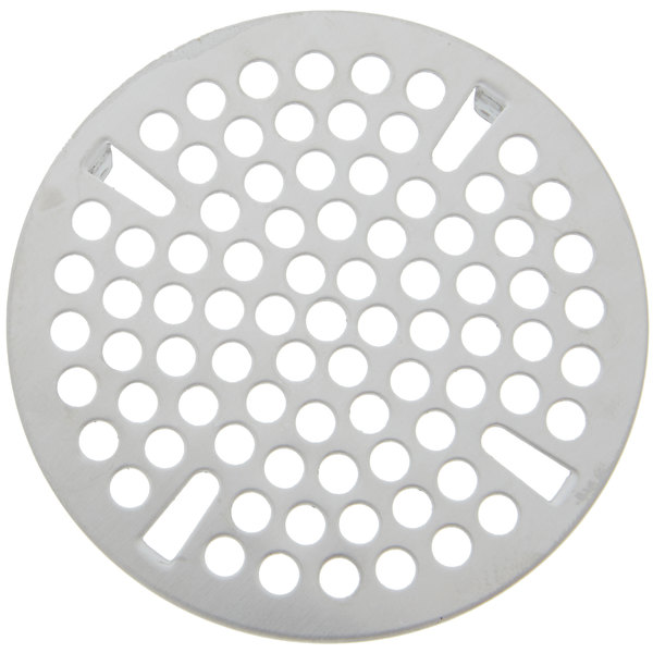 "T&S 010385-45 3"" Flat Strainer Replacement for T&S Waste Valves with 3"" Sink Openings"