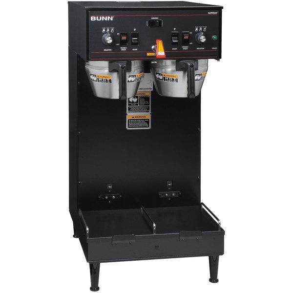 Bunn 27900.0020 Black Dual Soft Heat Brewer - 120/208V, 5900W