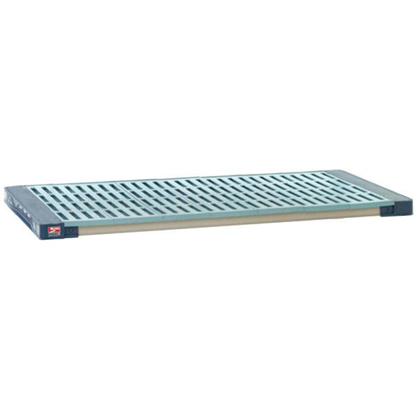 "Metro MAX4-2460G MetroMax 4 Polymer Shelf with Grid Mat - 24"" x 60"""