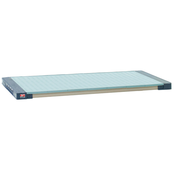 "Metro MAX4-2424F MetroMax 4 Polymer Shelf with Solid Mat - 24"" x 24"""