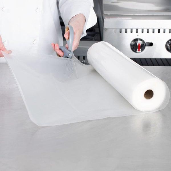 """VacPak-It 11 1/2"""" x 50' Roll of Full Mesh External Vacuum Packaging Bags 3 Mil"""