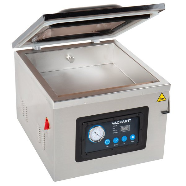 Elegant VacPak It VMC16 Chamber Vacuum Packaging Machine With 16 Inch Seal Bar And  Oil Pump