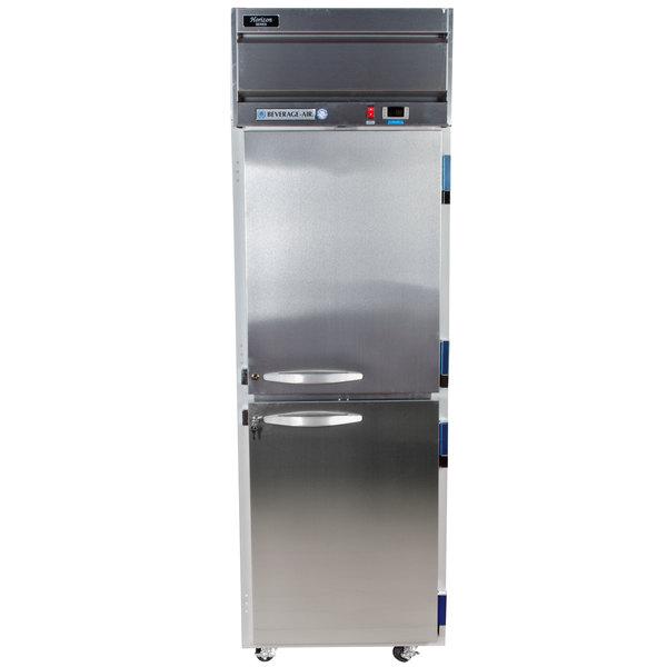 "Beverage-Air HF1-1HS Horizon Series 26"" Solid Half Door Reach-In Freezer Main Image 1"