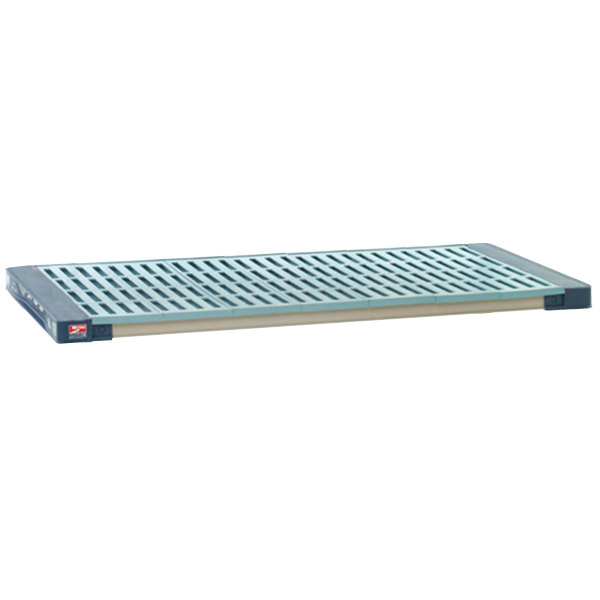 "Metro MAX4-2430G MetroMax 4 Polymer Shelf with Grid Mat - 24"" x 30"""