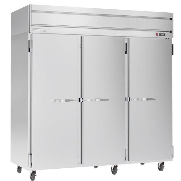 """Beverage-Air HFP3-5S Horizon Series 78"""" Solid Door Reach-In Freezer"""