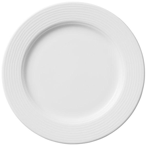 """Villeroy & Boch 16-4003-2640 Sedona Function 8 1/4"""" White Porcelain Plate - 6/Case"""
