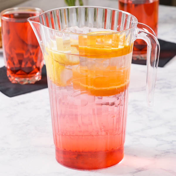 WNA Comet CCPIT50 Classic Crystal 50 oz. Pitcher - 5/Pack