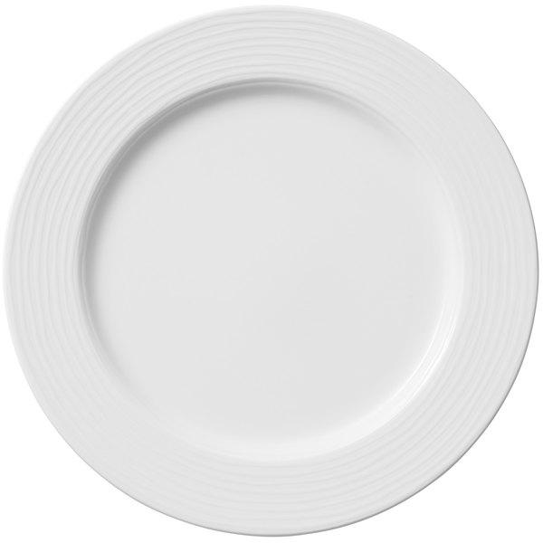 """Villeroy & Boch 16-4003-2620 Sedona Function 10 5/8"""" White Porcelain Plate - 6/Case"""