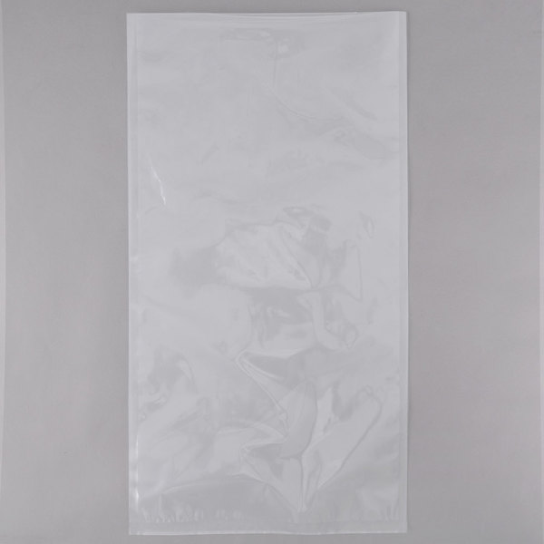 VacPak-It 10 inch x 22 inch Chamber Vacuum Packaging Pouches / Bags 3 Mil - 500/Case
