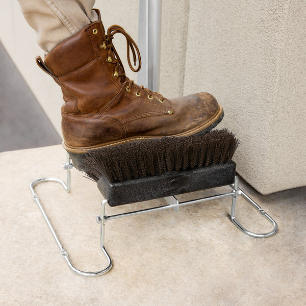 Carlisle 4042401 Spectrum Brown Boot and Shoe Brush