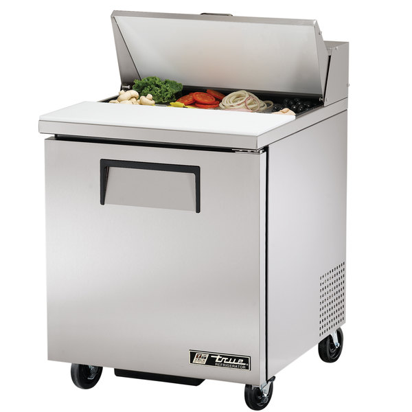 True TSSU-27-8 27 inch 1 Door Sandwich / Salad Prep Refrigerator