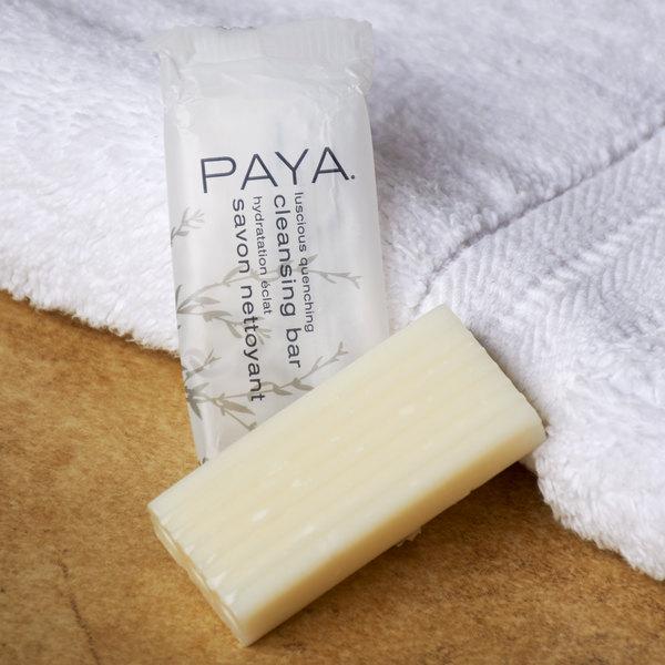 PAYA Orange and Papaya Cleansing Bath Bar Soap 0.6 oz. - 600/Case