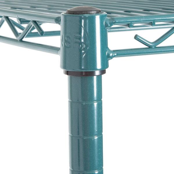 18 x 24 x 64 Green Epoxy Wire Shelf Rack Commercial | eBay