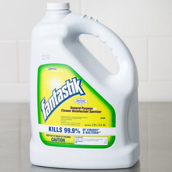Diversey 5588608 Fantastik® 1 gallon / 128 oz. General Purpose Cleaner