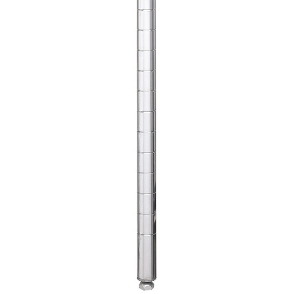 "Metro 27PFS Super Erecta 28 5/8"" Stainless Steel Upper Front Post Main Image 1"