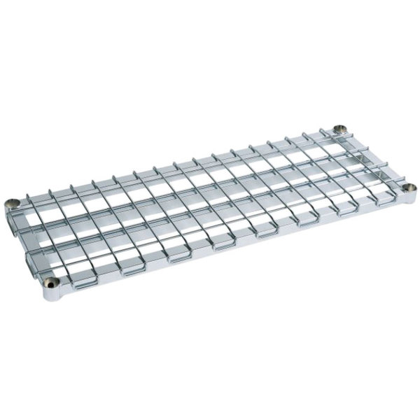 """Metro 2448HDRS HDR Series 24"""" x 48"""" Stainless Steel HD Super Dunnage Shelf Main Image 1"""