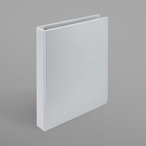 """Samsill 16937 Earth's Choice White Biobased View Binder with 1"""" D Rings Main Image 1"""