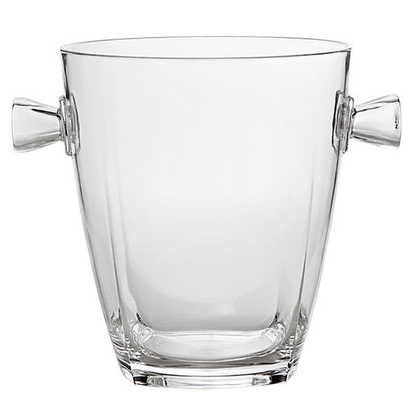 Franmara 9045 5.25 Qt. Clear Crystal-Replica Single-Bottle Customizable Acrylic Wine Cooler Main Image 1