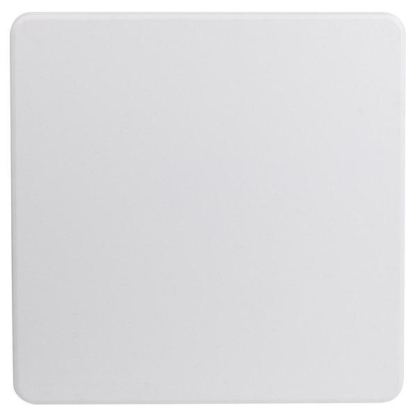 Flash Furniture 34 Square Granite White Plastic Folding Table