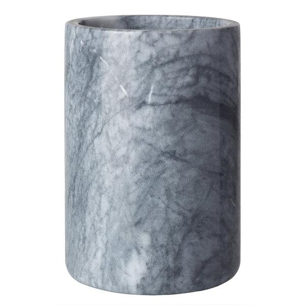 "Franmara 9208 Customizable 4 1/4"" x 6 1/8"" Gray Marble Wine Cooler"