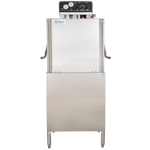 Noble Warewashing HT-180 Multi Cycle High Temperature Dishwasher, 208/230V, 1 Phase Main Image 1