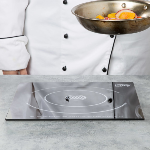Avantco DC1800 Drop-In Induction Range / Cooker with Remote Control - 120V, 1800W