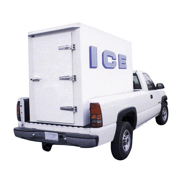Polar Temp 4X8CW Cold Wall Refrigerated Ice Transport - 140 cu. ft.