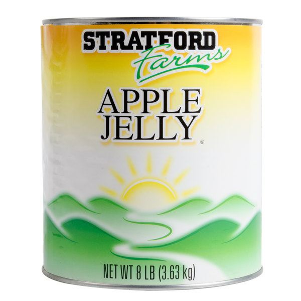 Stratford Farms Apple Jelly - #10 Can