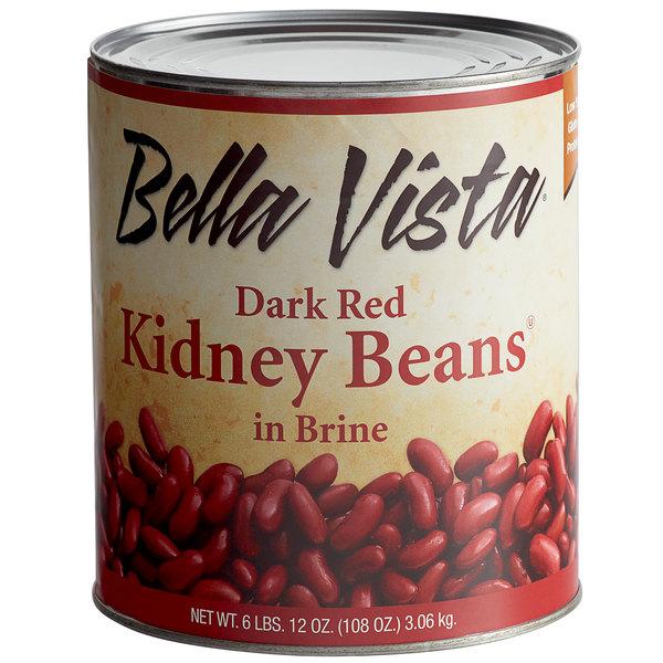Bella Vista 10 Can Dark Red Kidney Beans In Brine 6 Case