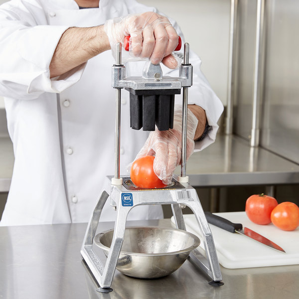 Vollrath 15006 Redco InstaCut 3.5 8 Section Fruit and Vegetable Wedger - Tabletop Mount Main Image 4