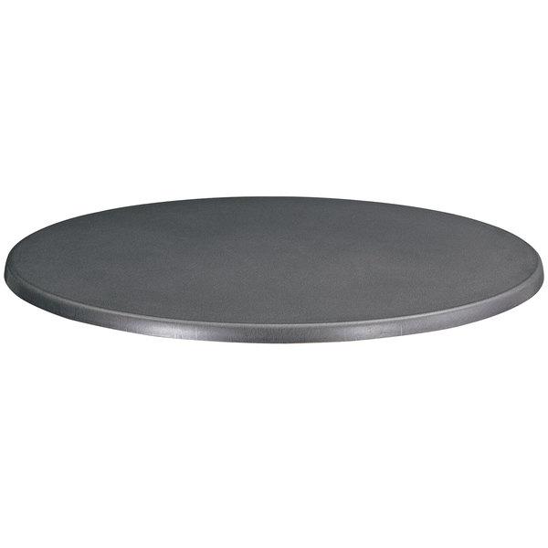 "Safco 2492AC Entourage 32"" Anthracite Round Table Top"