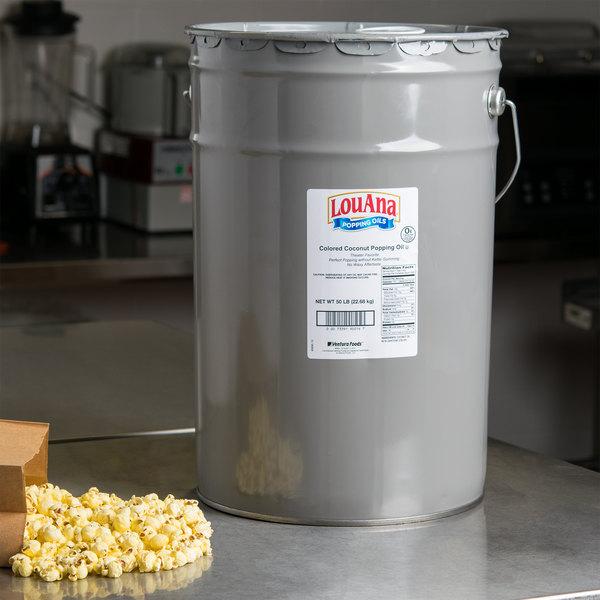 LouAna Yellow Coconut Oil - 50 lb. Pail