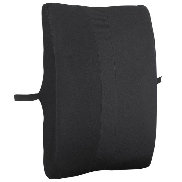 Safco 71301 Remedease Black Full-Height Backrest
