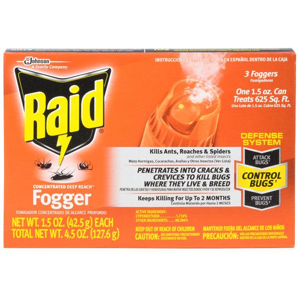 Diversey Raid 1.5 oz. Concentrated Deep Reach Fogger - 36/Case